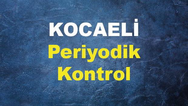 KOCAELİ PERİYODİK KONTROL